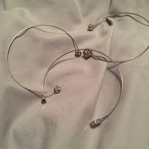 Set of 3 cuff bracelets